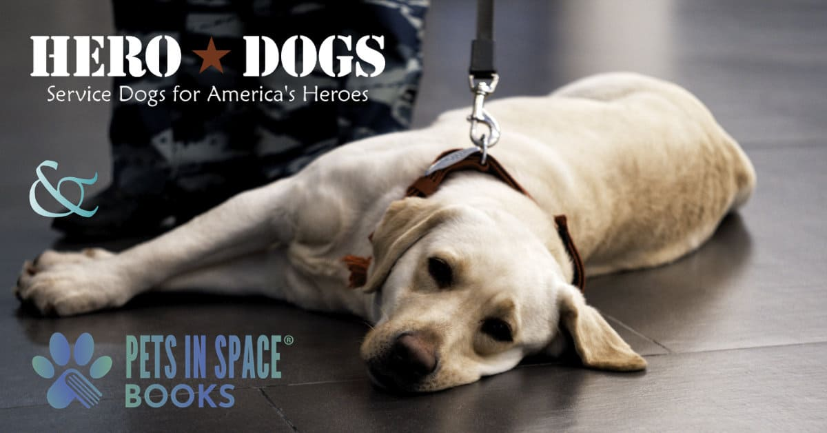 Pets in Space Supports Hero Dogs