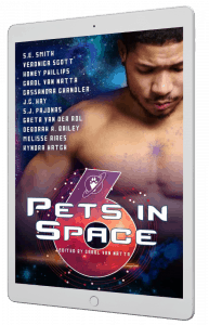 Pets in Space has 11 stories for you listed on the cover for Pets in Space 6